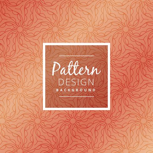 creative organic pattern background vector design illustration