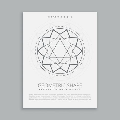 geometría sagrada forma espiritual