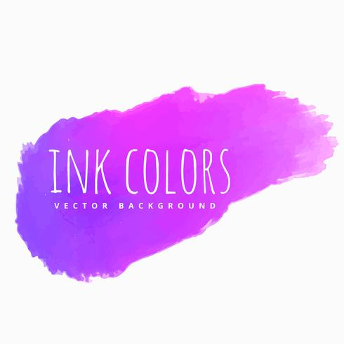 purple pink ink splash vector design illustration