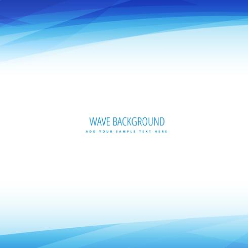 clean business wave background