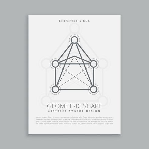 mystical geometric shape
