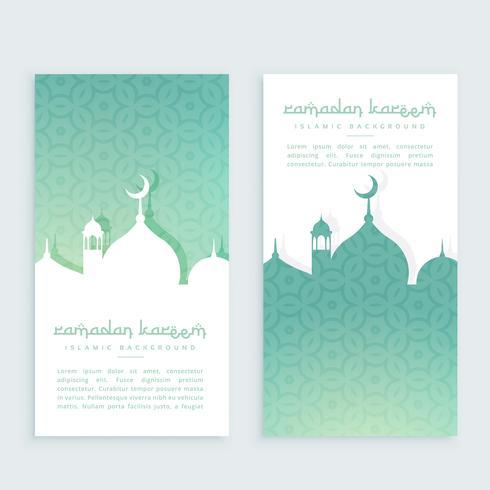 ramadan festival verticale banner poster