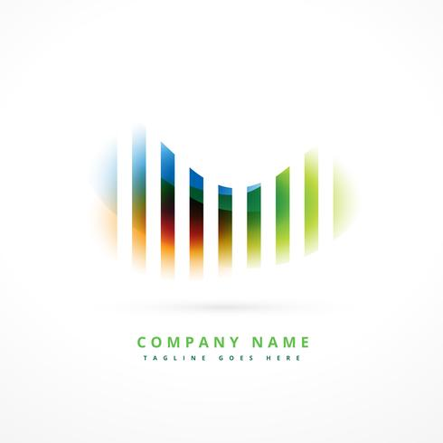 Colorful Company Logo Symbol Design Download Gratis Vectorkunst En
