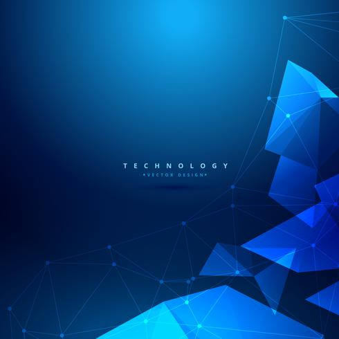 abstract geometrical technology background vector design illustr