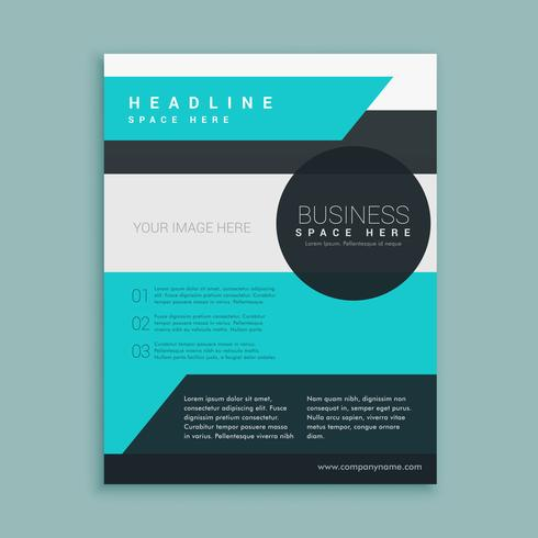 Business Magazine Template-Design