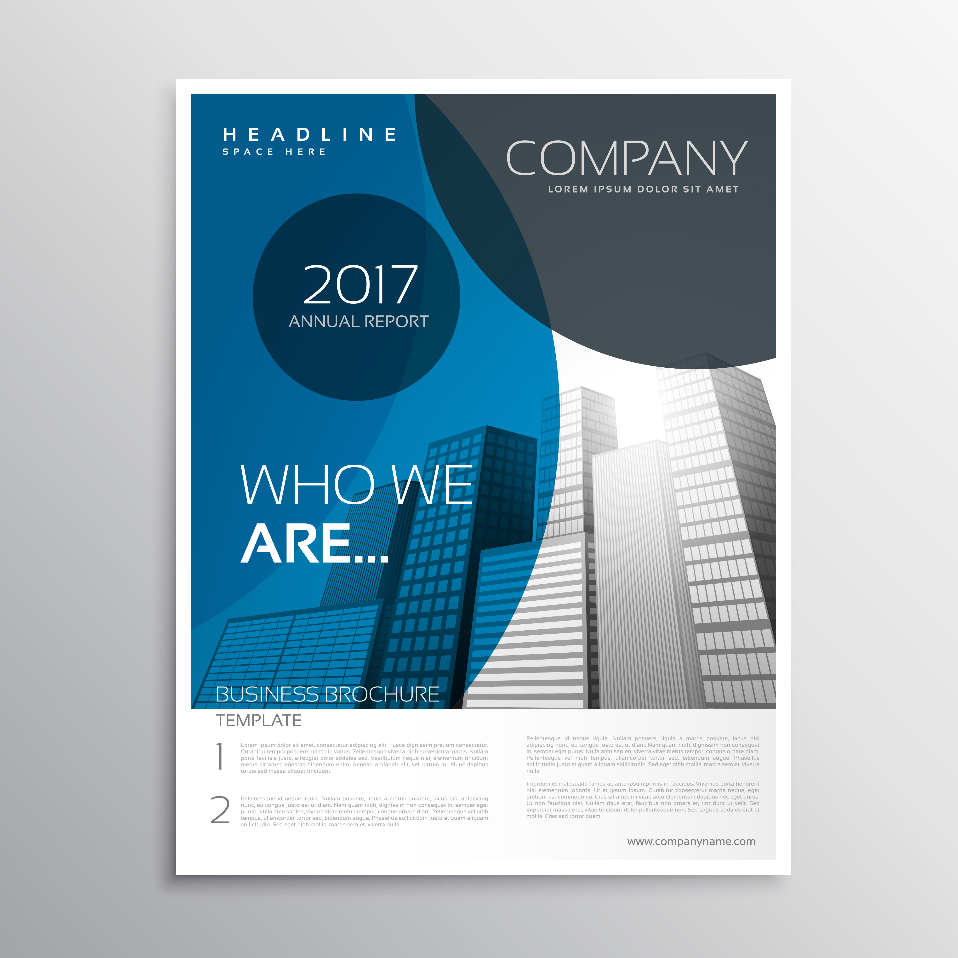 Business Brochure Cover Design Business Brochure
