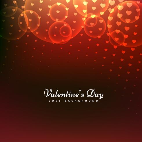 beautiful valentines day background vector design illustration