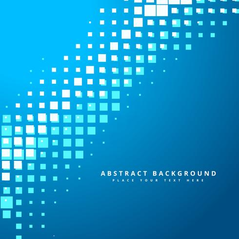 blue pixilated mosaic background