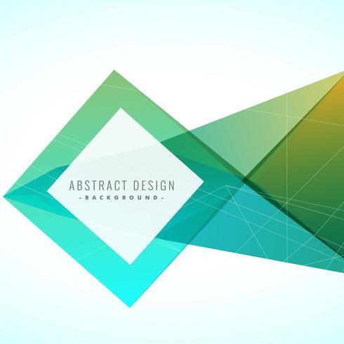abstrakt kreativ bakgrund med geometrisk design