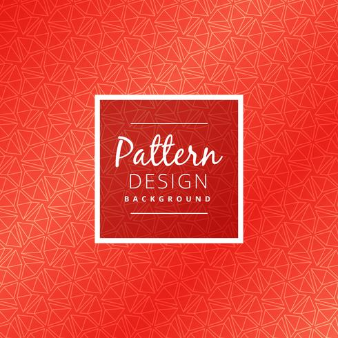 creative red pattern design vector design illustration