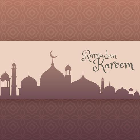 ramadan festival greeting background