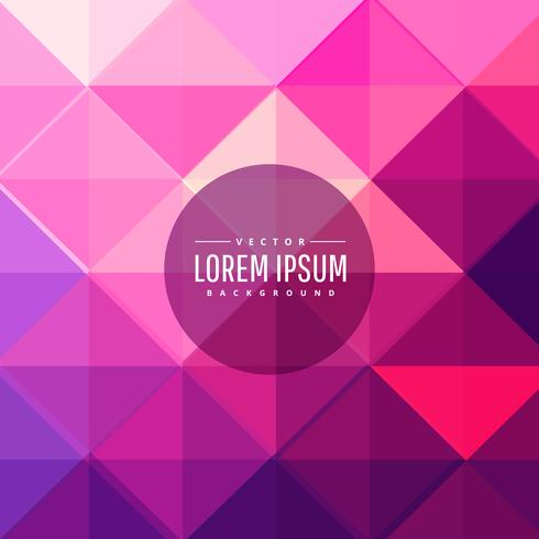 roze driehoek vormen abstracte achtergrond