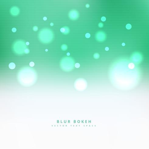 clean green bokeh background design illustration