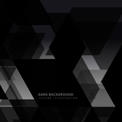 mörk svart abstrakt bakgrund vektor design illustration