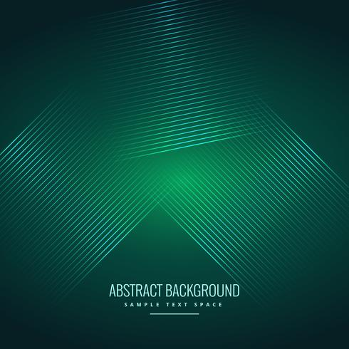 green background with abstract shiny lines