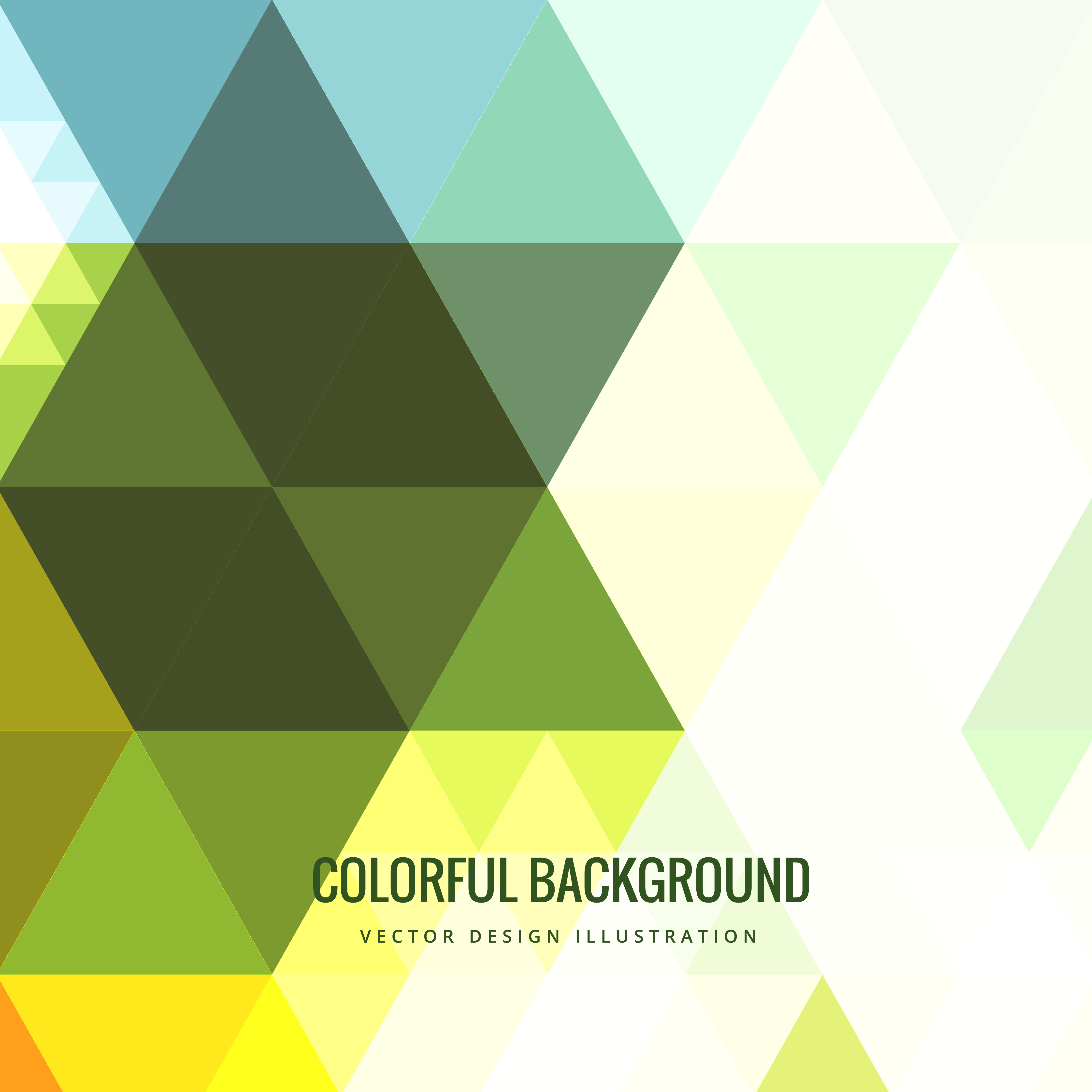Colorful Triangle Background Download Free Vector Art