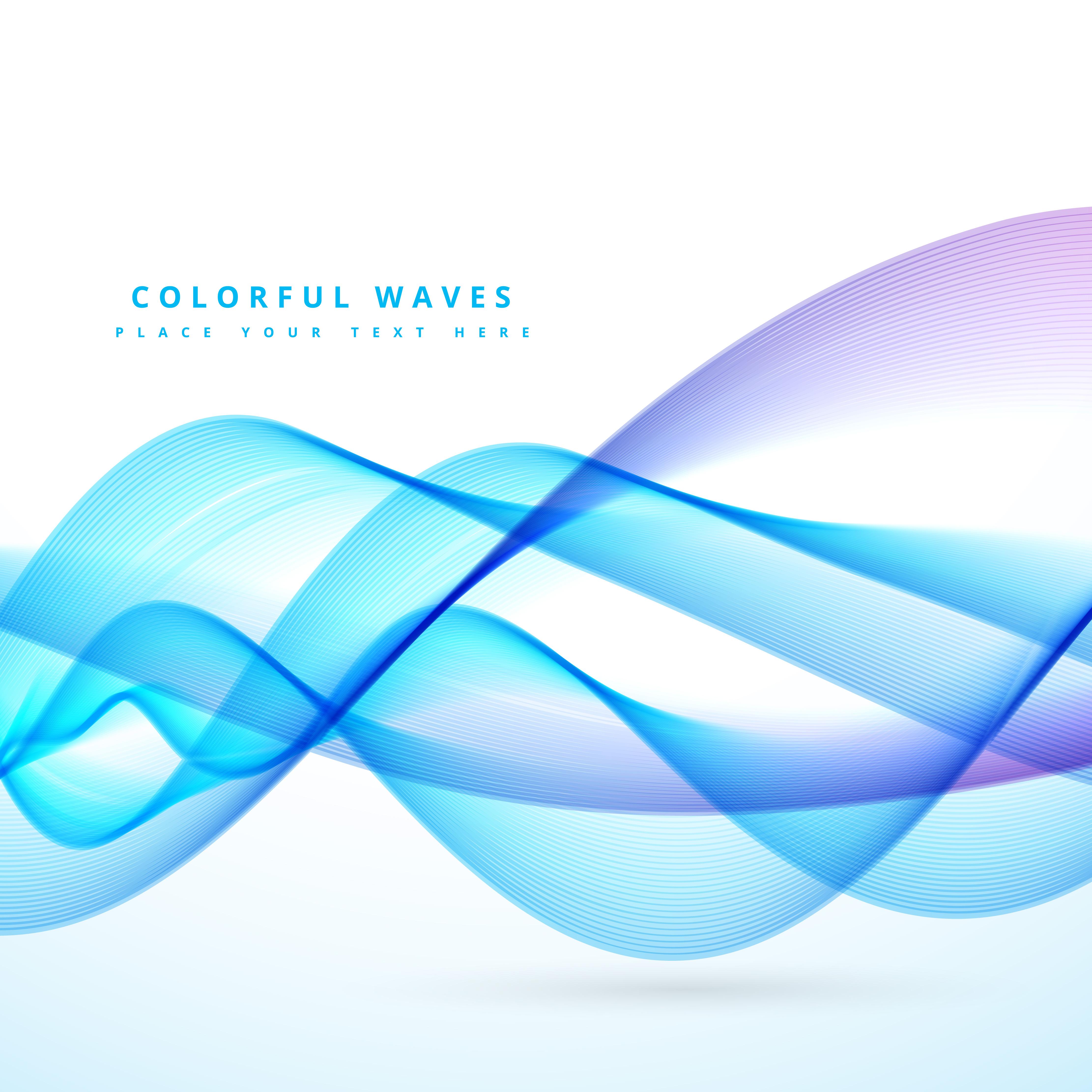 blue wave design - Download Free Vector Art, Stock ...