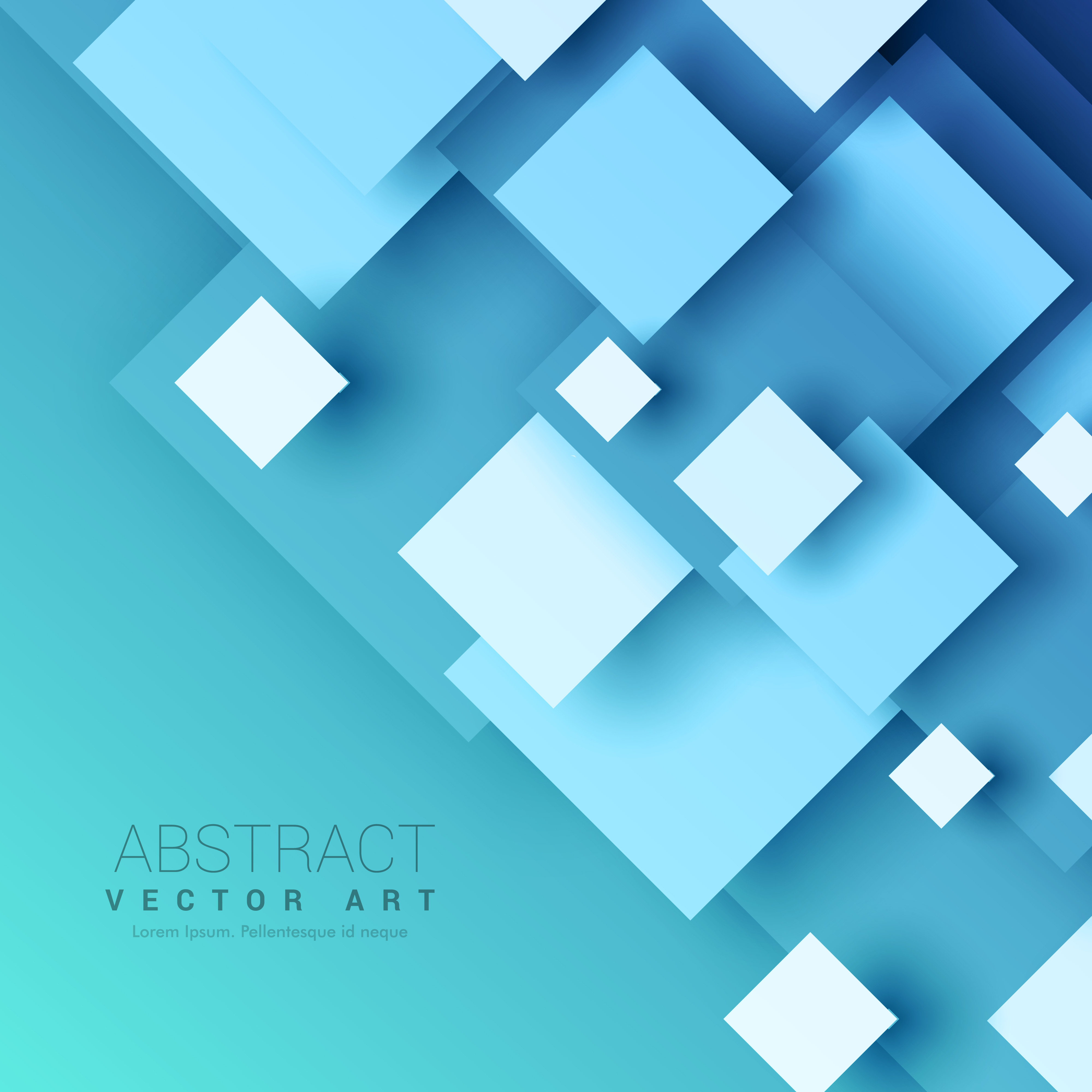blue background with geometric square shapes download