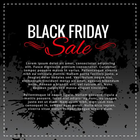black friday sale background design with space for your text