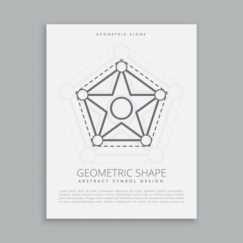 sacred geometric sign