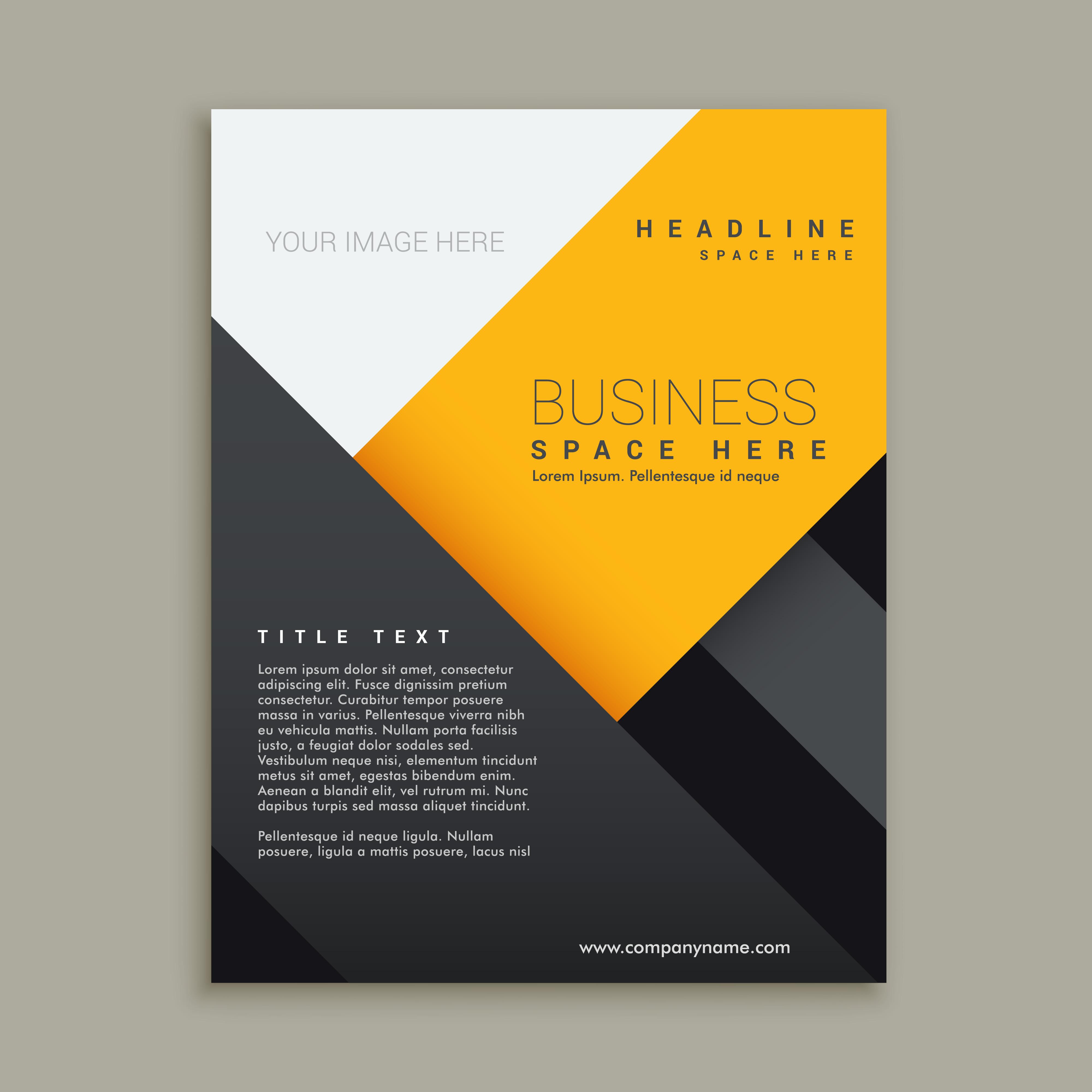 Modern Minimal Business Brochure Download Free Vector