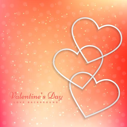 valentine greeting card vector design illustration