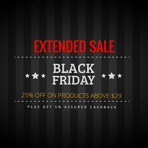 black friday extended sale