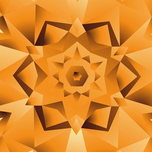 Ilustración de diseño de fondo amarillo naranja abstracto