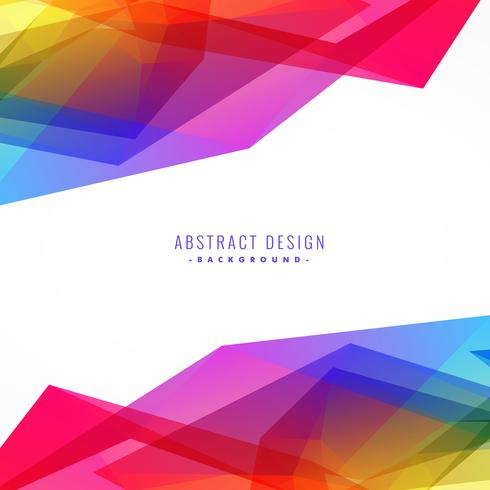 bright colorful abstract background design