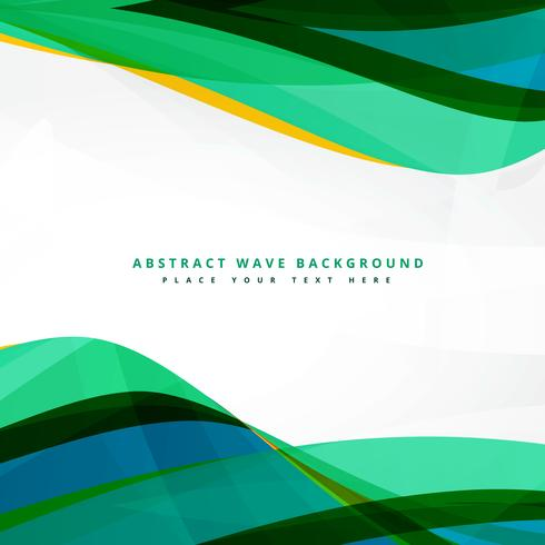 clean wavy template background design download free vector art