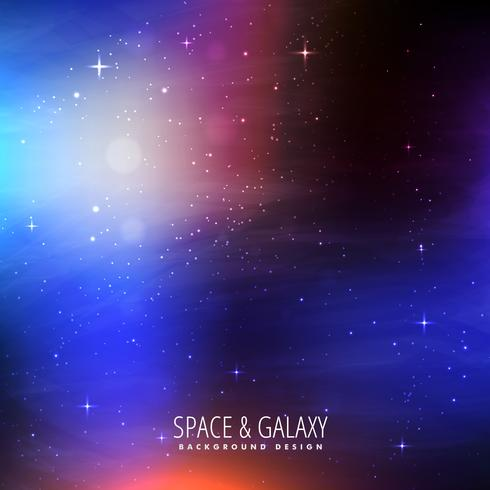 bright colors space background