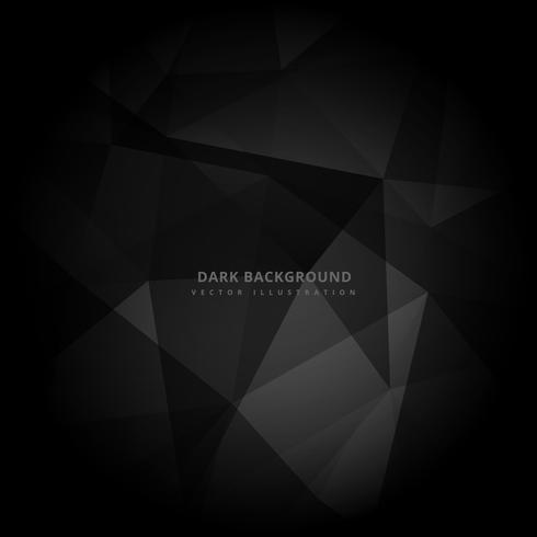 abstracte donkere zwarte achtergrond vectorontwerpillustratie