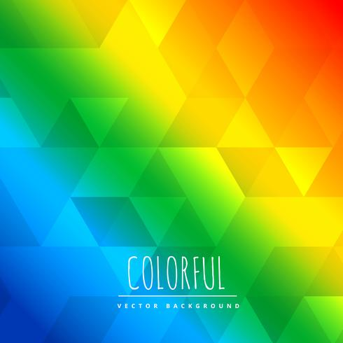 abstract coilorful background with triangle patterns design