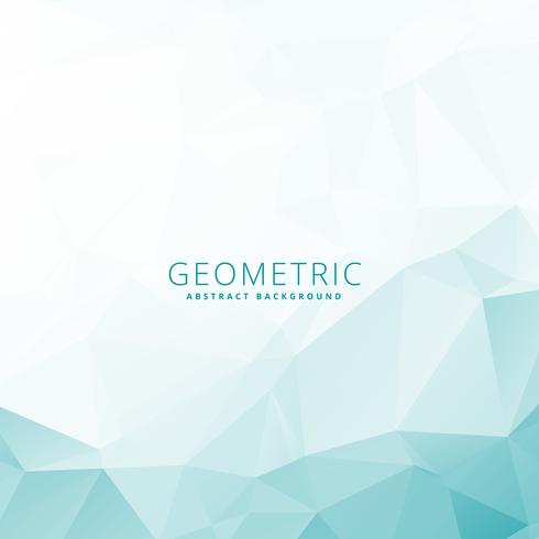 low poly geometric template