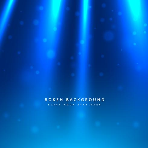 light rays in blue background