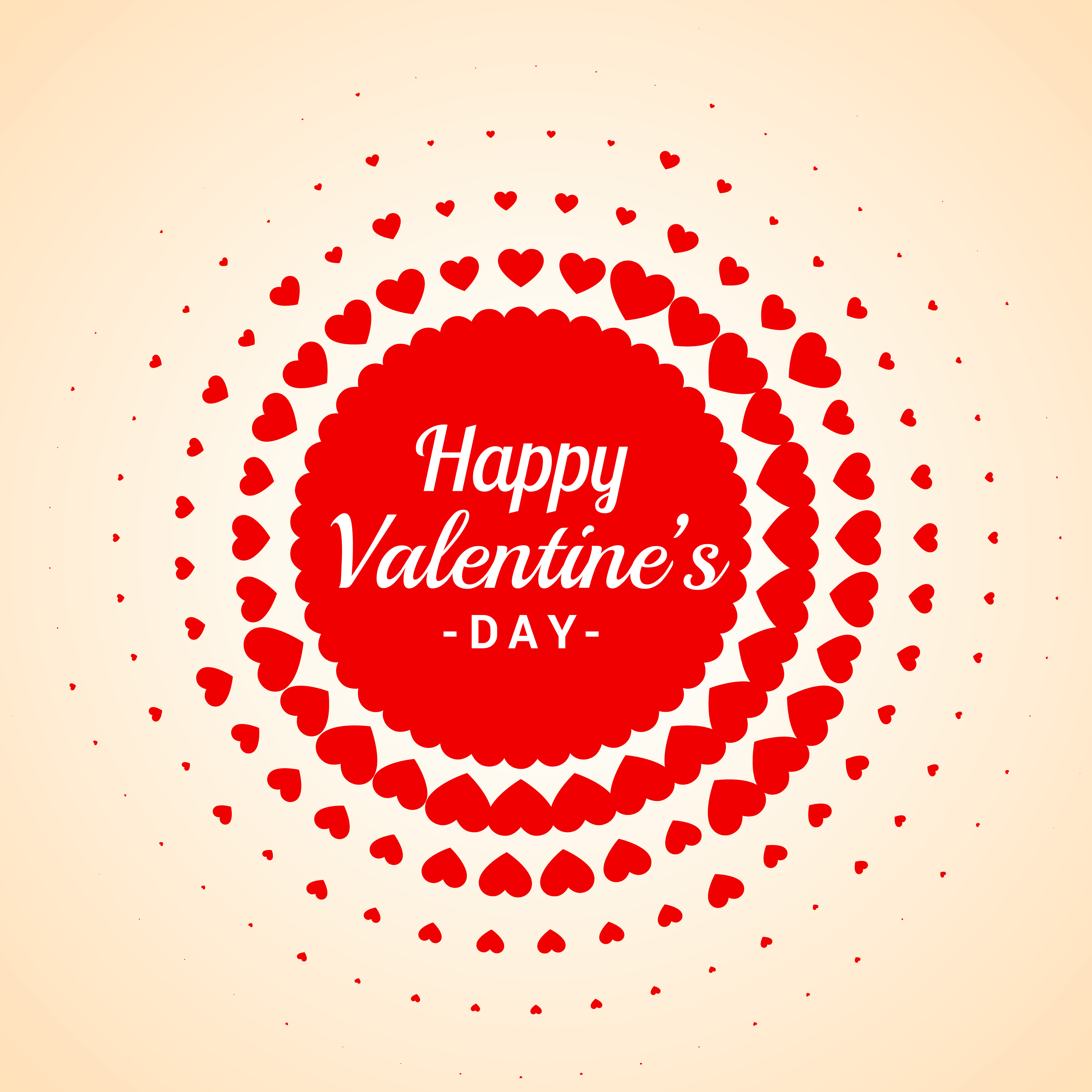 Happy valentines day card vector design illustration for Valentines day card design