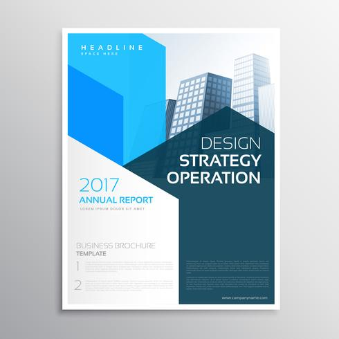 company annual report brochure  teamplate