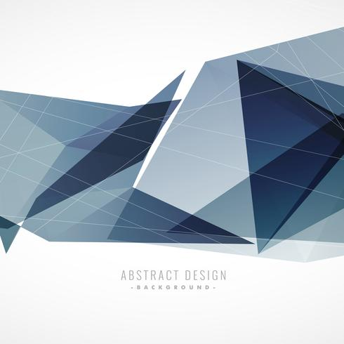 abstract geometric background in blue shade