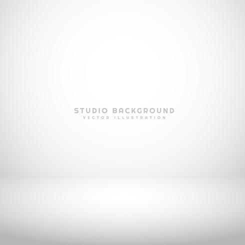 fond de studio blanc vide