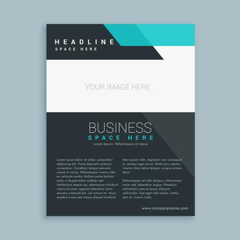 modern business brochure flyer design