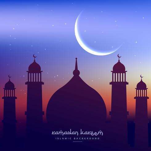 ramadan kareem background greeting