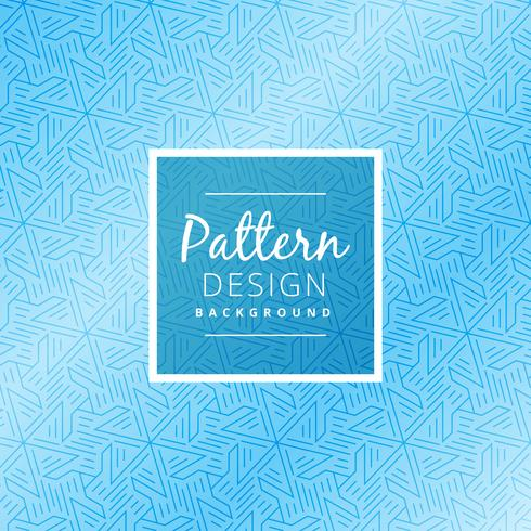 abstract blue pattern background vector design illustration