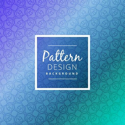 hermosa ilustración de diseño de vector de patrón abstracto sin costuras