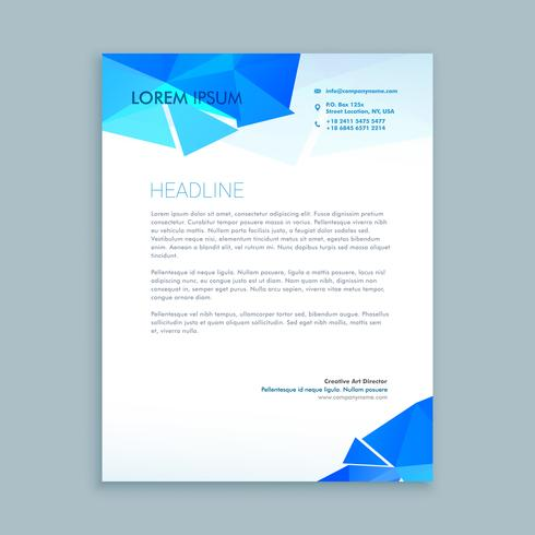 creative letter document template vector design illustration