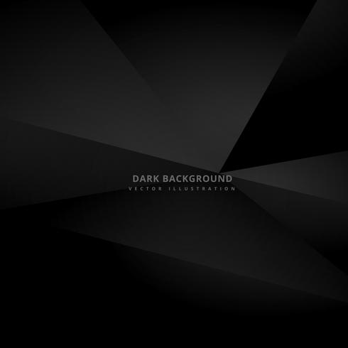 dark black 3d background vector design illustration