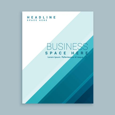 stylish business brochure template