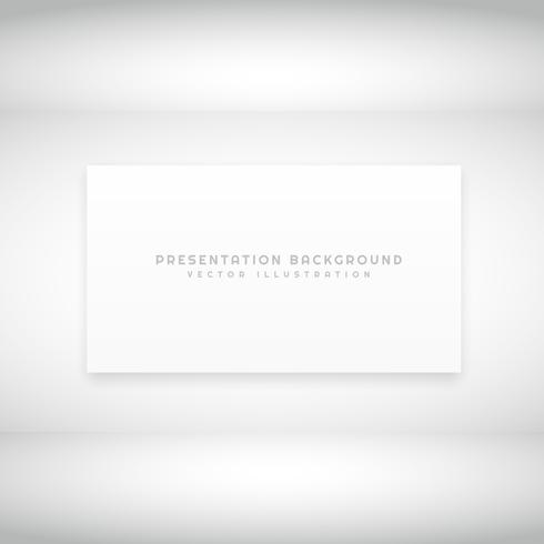 white presentation background