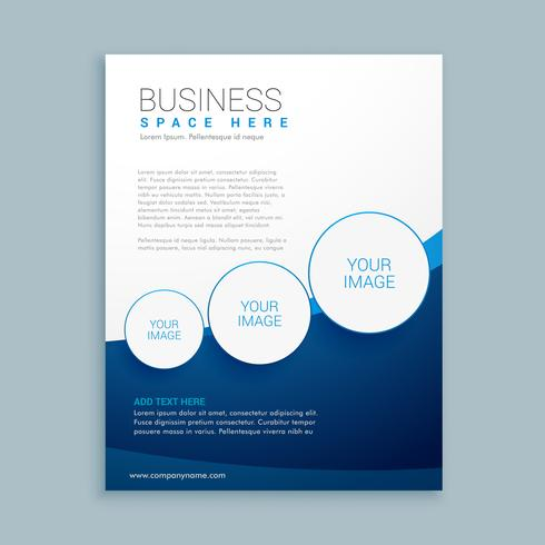 company business brochure page design