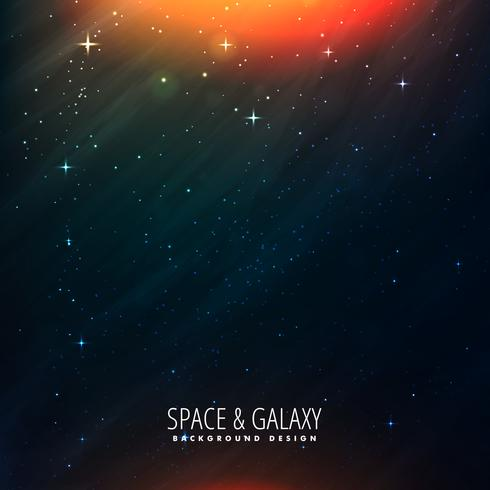 space universe template