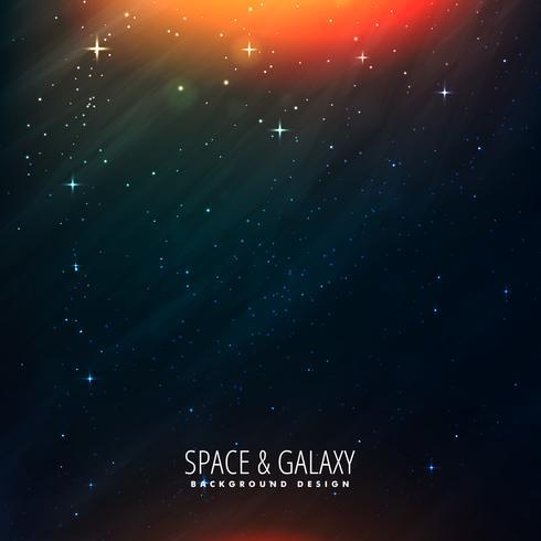plantilla de universo espacial